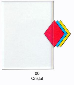 Acrílico Extrudado - Cristal 00