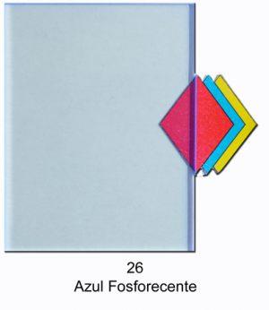 26   Azul Fosforescente