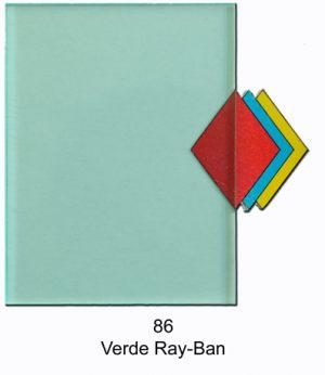 86   Verde Ray Ban