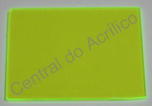 Poliestireno Standard Verde Fluorescente